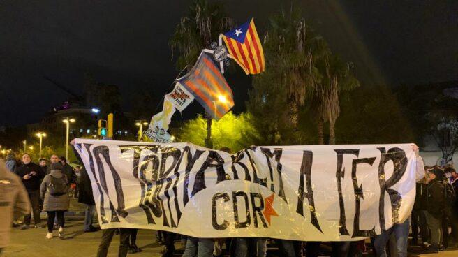 Pancarta de los CDR.