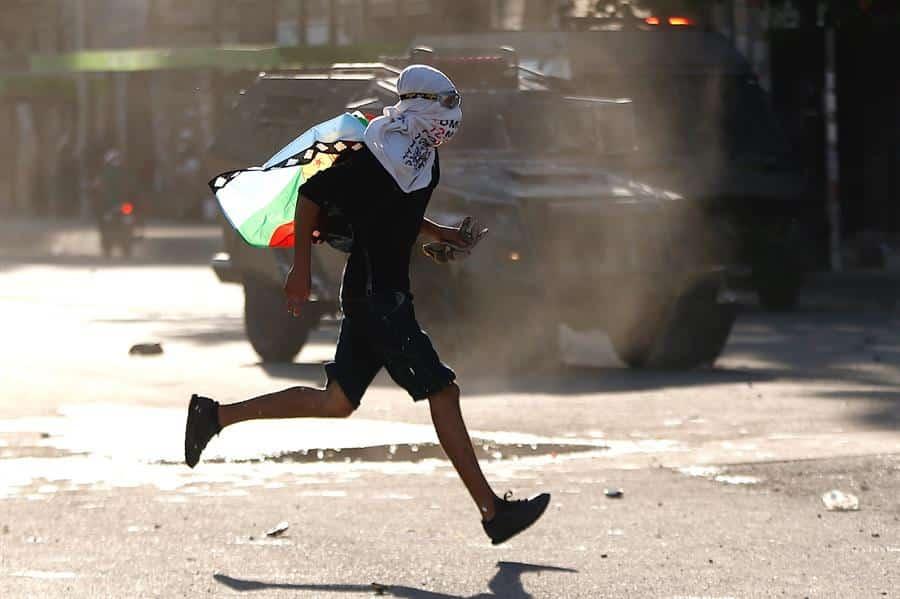 Chile-protestas-santiago