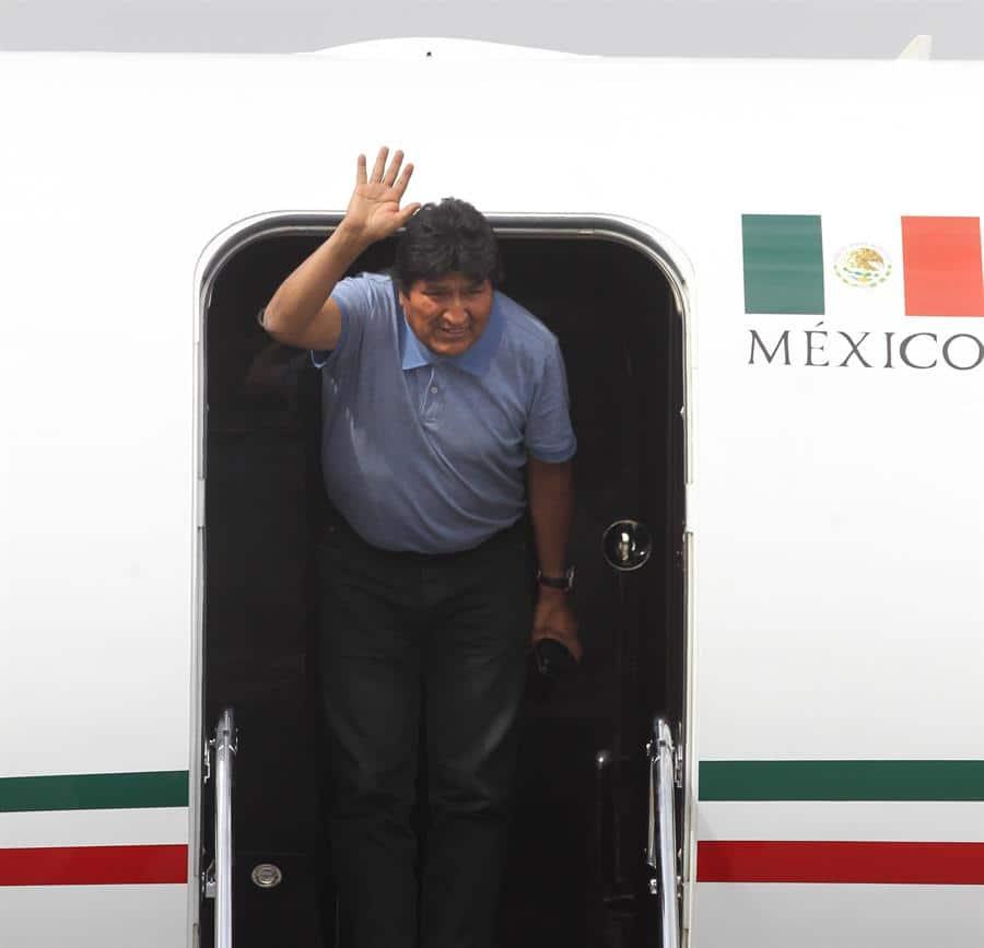 Evo Morales en México