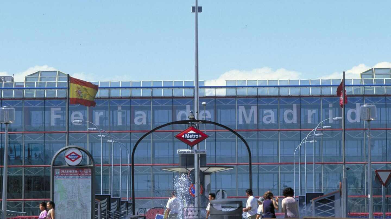 Entrada principal de la Feria de Madrid (Ifema).