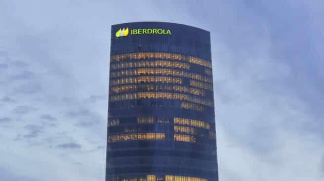 Torre Iberdrola, la sede central de la eléctrica en Bilbao.