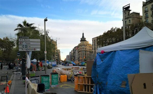 Agresión Barcelona