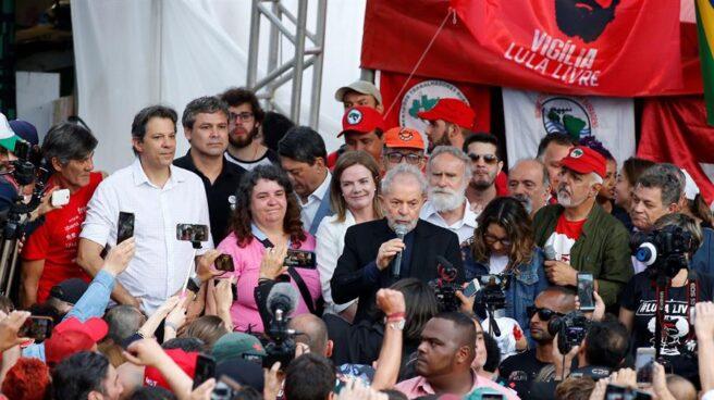 Lula en libertad