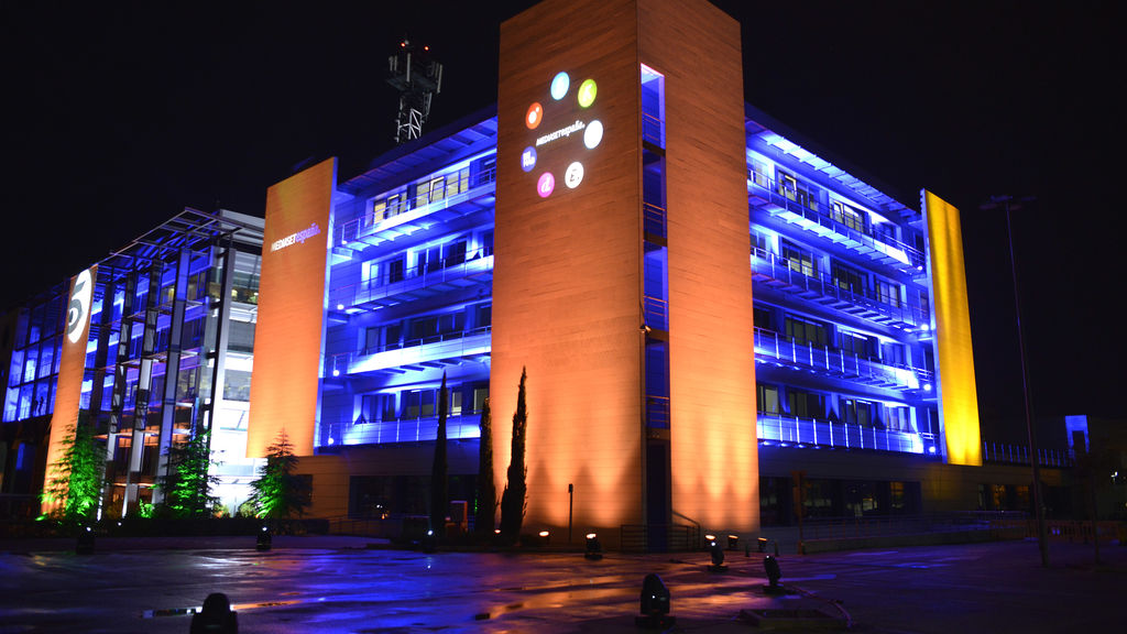 Sede de Mediaset España.