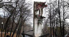 La historia del fragmento del muro de Berlín en Moscú