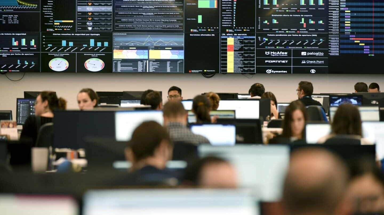 el nuevo Centro de Operaciones Digitales (DOC) de Telefónica en España.