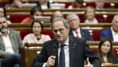 """Torra rechaza el acuerdo de ERC y PSOE y lo justifica ante la falta de un """"relator"""""""