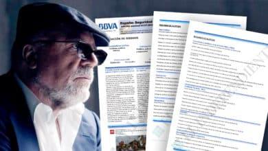 Los escuetos informes de Villarejo sobre corrupción y delincuencia para BBVA por los que cobró millones