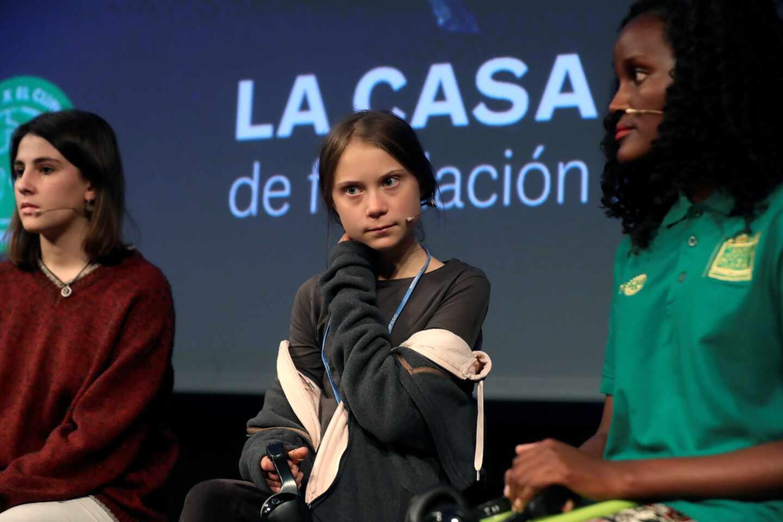 """Greta Thunberg: """"Están desesperados por silenciarnos"""""""
