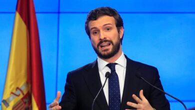 """Casado anuncia una oposición """"moderada"""" y niega que haya """"halcones y palomas"""" en el PP"""