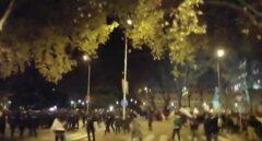 Marcha por el Clima: la Policía dispersa a una docena de encapuchados infiltrados