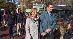 Urdangarin se pasea con su familia por Vitoria