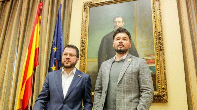 ERC investidura Esquerra Rufián Aragonès