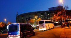 Real Madrid y Barcelona llegan al Camp Nou sin problemas pese a la amenaza de Tsunami