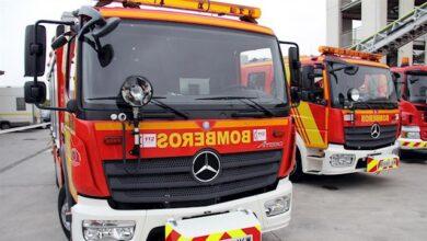 En la UCI un joven de 22 años por el incendio de una vivienda de Granada