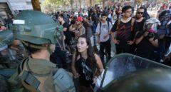 Chile protestas jóvenes