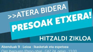 La UPV cede sus campus para conferencias de ex presos e hijos de miembros de ETA