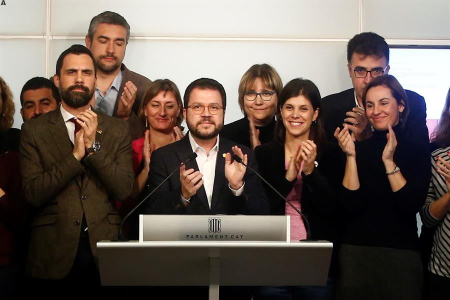 ERC congela las negociaciones hasta que el Gobierno se pronuncie sobre Junqueras