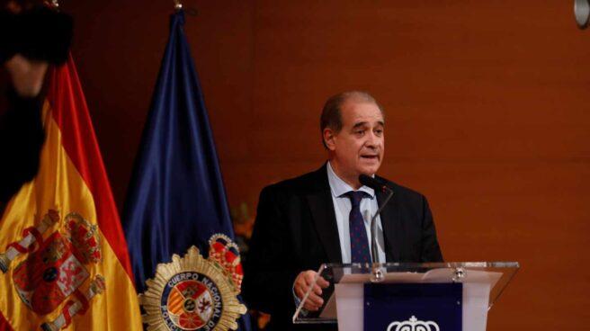 Francisco Pardo Piqueras, director general de la Policía Nacional, en un acto oficial.