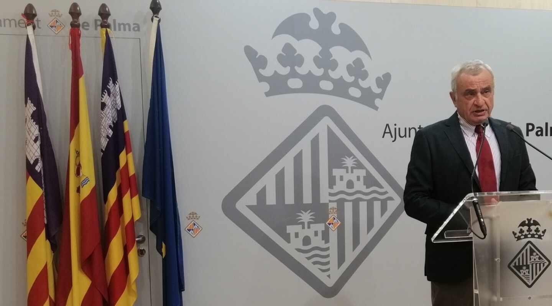 Fulgencio Coll, ex Jefe del Estado Mayor de la Defensa (JEMED) y hoy portavoz de Vox en el Ayuntamiento de Palma.