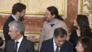 """Rufián se despacha contra Iglesias por su """"compadreo"""" en el Congreso"""