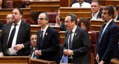 Sánchez, Rull y Turull se acogen al TJUE para reclamar la suspensión de su condena al TC