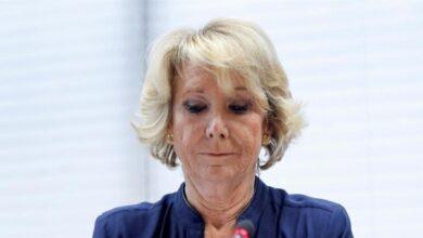 Aguirre anuncia querella contra Bárcenas por decir que recibió un sobre con 60.000 euros de un empresario
