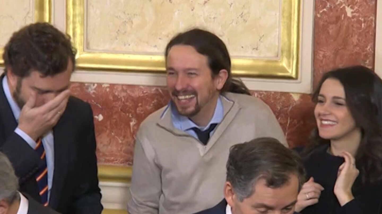 Espinosa de los Monteros, Iglesias y Arrimadas en el Congreso