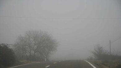 Seis provincias estarán hoy en riesgo por el predominio de nieblas