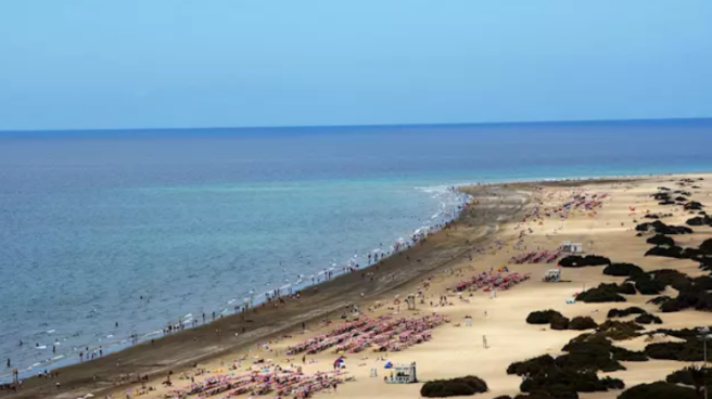 Costa en Canarias.