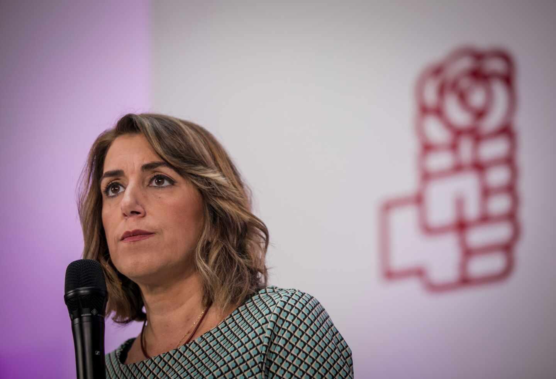 Susana Díaz, ex presidenta de la Junta de Andalucía y actual secretaria general del PSOE-A.