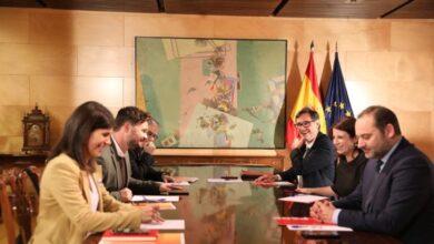 """El PSOE y ERC coinciden en que el problema de Cataluña """"es político y necesita soluciones políticas"""""""