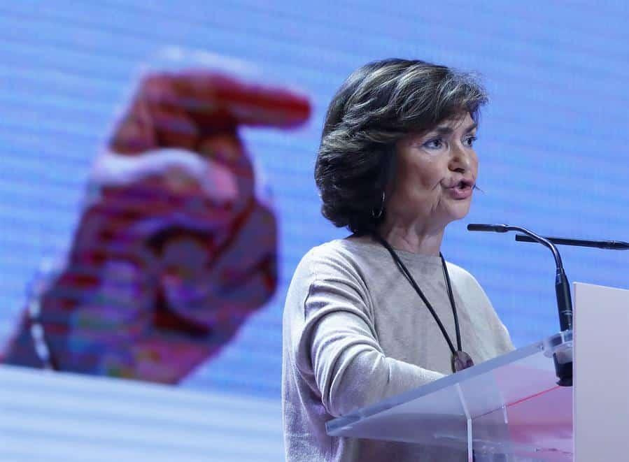 Carmen Calvo-Venezuela