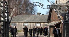 Merkel entra en Auschwitz