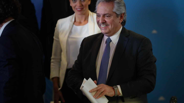Alberto Fernandez presidente peronista de Argentina
