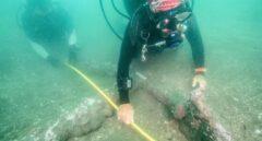 Descubren en México dos anclas en el sitio donde desembarcó Hernán Cortés