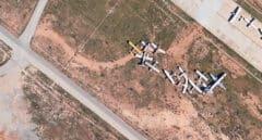 Los cementerios de aviones abandonados por España