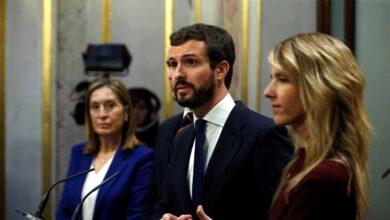 Despliegue del PP en la presentación del libro de Rajoy con la ausencia de Álvarez de Toledo