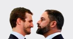 Casado y Abascal, parecidos y diferencias razonables
