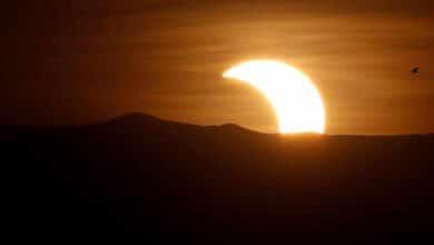 El eclipse solar parcial se verá el jueves a mediodía