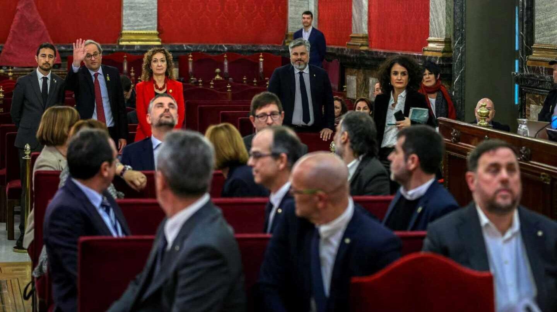 Imagen del juicio del procés