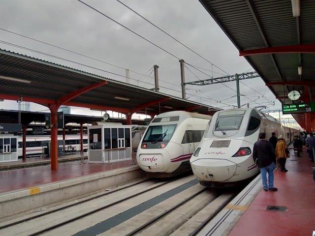 Varias líneas de ferrocarril están afectadas por las condiciones meteorológicas