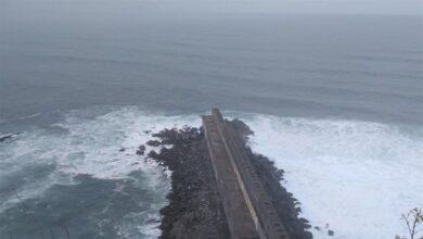 'Elsa' dejará rachas de viento de 120 km/h, lluvias de hasta 100 l/m3 y olas de 5 metros