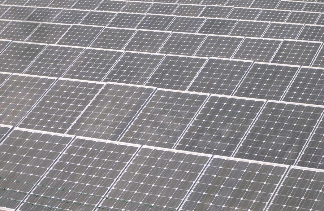Una planta de energía fotovoltaica de Endesa.
