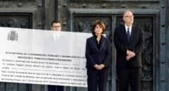 Los operarios de la funeraria tardaron 63 minutos en extraer los restos de Franco