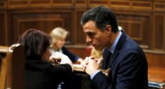 Sánchez e Iglesias ponen en práctica su pacto con los independentistas en el Congreso