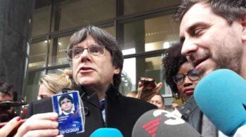 El informe del Parlamento Europeo propone retirar la inmunidad a Puigdemont, Comín y Ponsatí