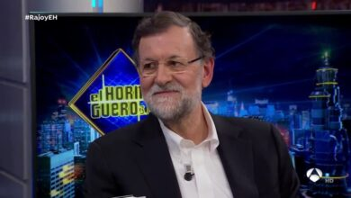 Rajoy, con Pablo Motos: siete años de presidencia resumidos en una tapa de bar