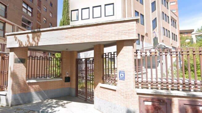 Sede de Izquierda Unida en Madrid.