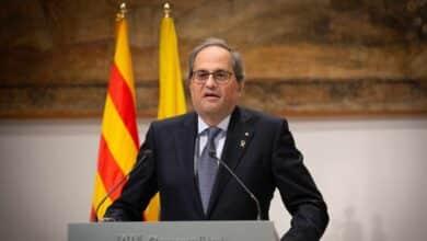 La Junta Electoral Central inhabilita a Torra y le fuerza a dimitir como presidente de la Generalitat